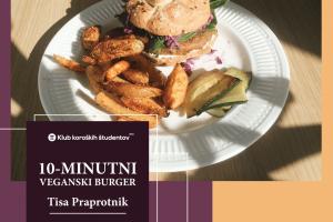 Veganski burger naslovnica